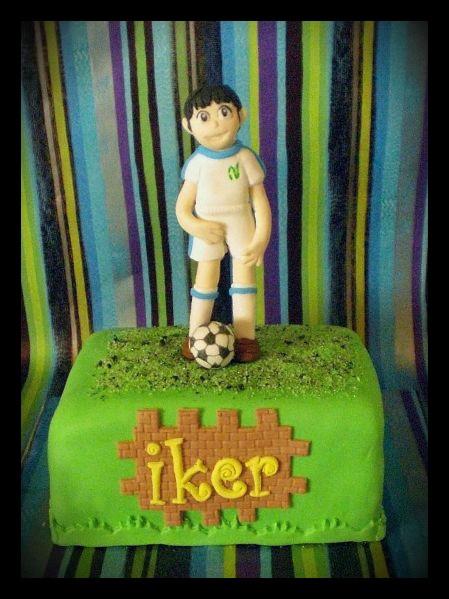 soccer´s cake