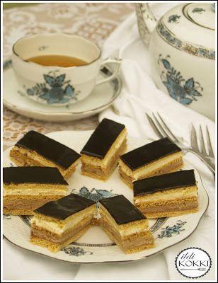 ildi KOKKI : Rama szelet (Szilvia margarinos szelet; Kedvenc szelet)