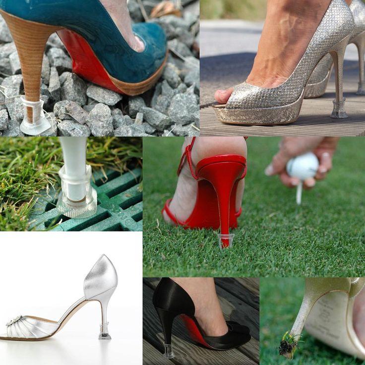 Footful 1 paire Protecteurs Bouchons de Talons Protège-talon pour Chaussures à Talons Hauts Taille S - Clair: Amazon.fr: Cuisine & Maison