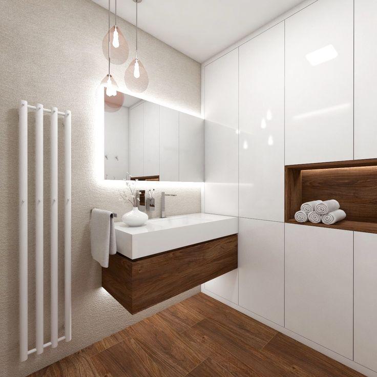 Architect Katka Petkovšek; bathroom design for privet investor