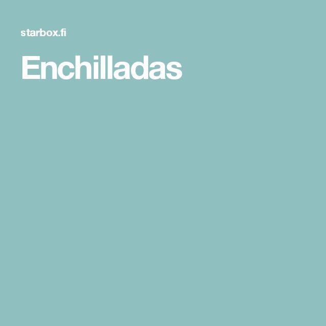 Enchilladas