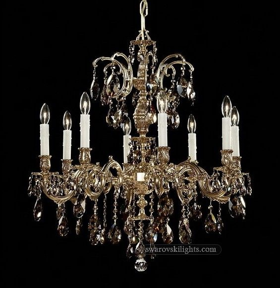1000 images about Brass Crystal Chandeliers – American Brass and Crystal Chandeliers