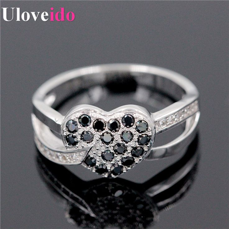 Find More Rings Information about Engagement Party Wedding Black Bague Simulated Diamond Rings Zirconia for Women Aniversario Aneis de Diamante Anillos Ulove Y007,High Quality zirconia abutment,China zirconia crucibles Suppliers, Cheap zirconia coping from D&C Fashion Jewelry Buy to Get a Free Gift on Aliexpress.com