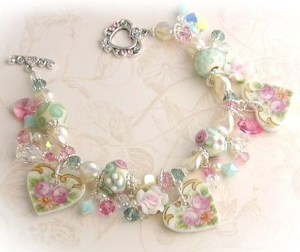 Jewelry and decor from broken china!  Wow!!