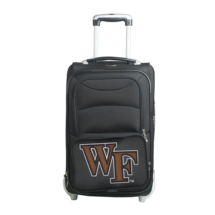 Wake Forest Demon Deacons 21-in. Wheeled Carry-On, Black