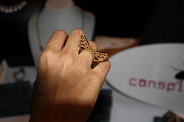 Anillo Mariposa en latón!, en el blog Esta noche soy una princesa.