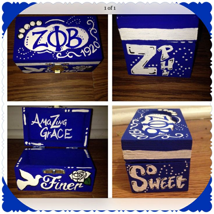 My Zeta pin box