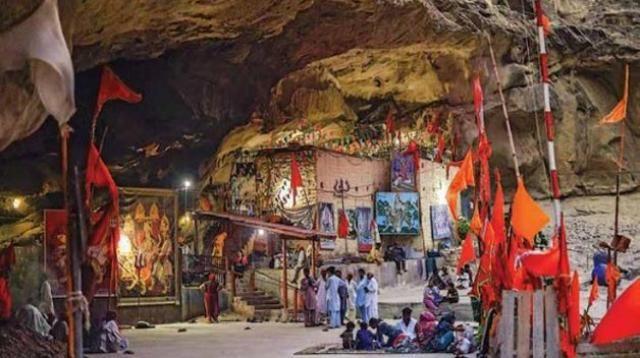 Hinglaj Mata Mandir in Balochistan, Pakistan is Shakti Peetha with history since Treta Yuga (Brahmakshatriyas) & during king Jayadratha of Mahabharata times