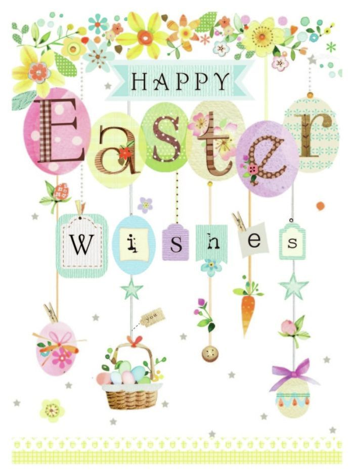 Happy Easter. I will be offline enjoying some time off . X