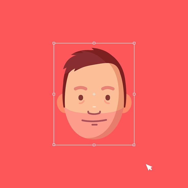 Self Portrait - Animated Gif on Behance