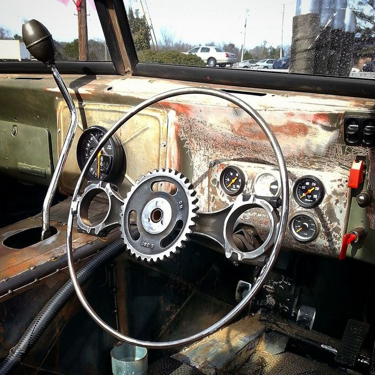 Costom Built Steering Wheel Rat Rod Parts Pinterest