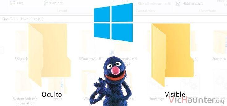 Como mostrar archivos y carpetas ocultos en Windows 10 -  En Windows 10 puedes encontrarte infinidad de funcionalidades que no están precisamente a primera vista. Esta es una de ellas y por eso te voy a enseñar como activar archivos y carpetas ocultos en Windows 10. Cada vez los niños están más al día con temas de informática. A pesar de estar trasteando a todas []  La entrada Como mostrar archivos y carpetas ocultos en Windows 10 aparece primero en VicHaunter.org.