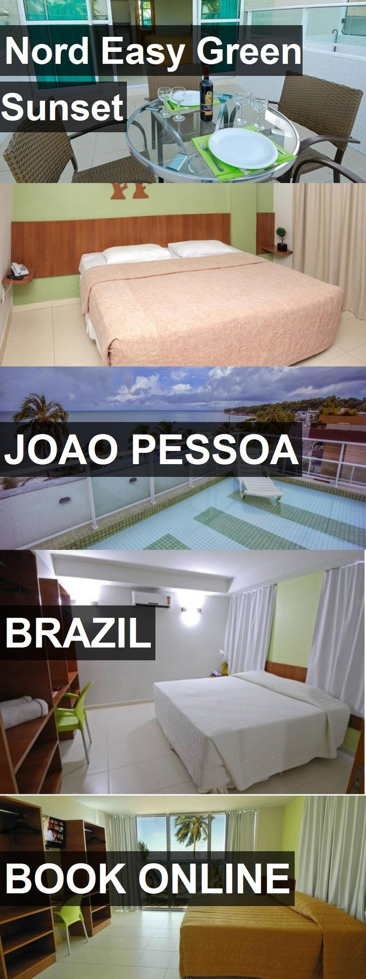 Hotel Nord Easy Green Sunset in Joao Pessoa, Brazil. For more information, photos, reviews and best prices please follow the link. #Brazil #JoaoPessoa #NordEasyGreenSunset #hotel #travel #vacation