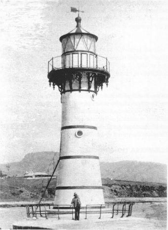 Wollongong Breakwater Lighthouse c1890