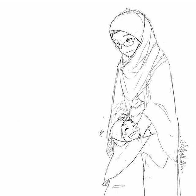 """Suatu pagi seorang anak gadis berkata pada ibunya: Ibu ibu selalu terlihat cantik. Aku ingin seperti ibu beritahu aku caranya Dengan tatapan lembut dan senyum haru sang ibu menjawab: Untuk bibir yang menarik ucapkanlah perkataan yang baik"""" """"Untuk pipi yang lesung tebarkanlah senyum ikhlas kepada siapapun"""" Untuk mata yang indah menawan lihatlah selalu kebaikan orang lain.. """"Untuk tubuh yang langsing sisihkanlah makanan umtuk fakir miskin"""" Untuk jemari tangan yang lentik menawan hitunglah…"""