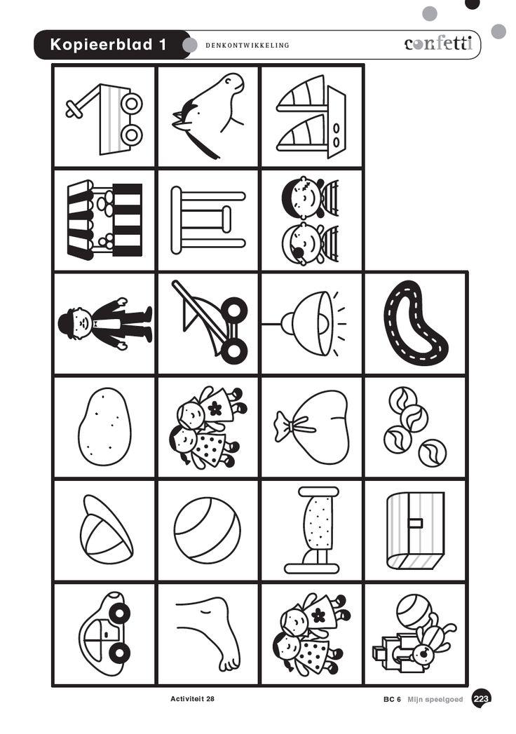 Thema Sint - speelgoed - gratis downloads - activiteiten - denkontwikkeling - kopieerbladen - 3e kleuter