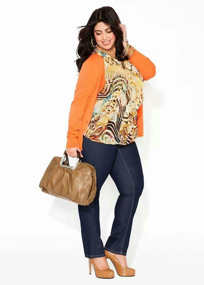 Fall Denim Fashion 2013 Ashley Stewart