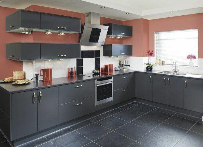 78 meilleures id es propos de cuisine gris anthracite for Pb choix peinture cuisine