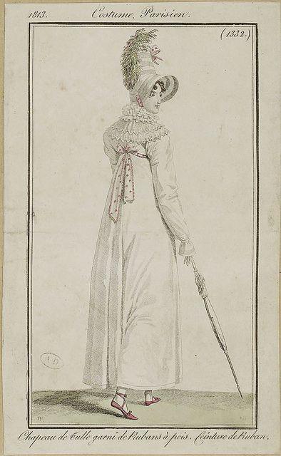 Costume Parisien, 1813.