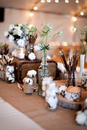 LOVE these for the tables!