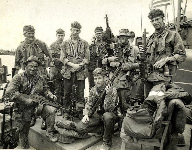 Navy SEALs, Foxtrot Platoon, SEAL Team One; Sea Float, 1970 ~ Vietnam War