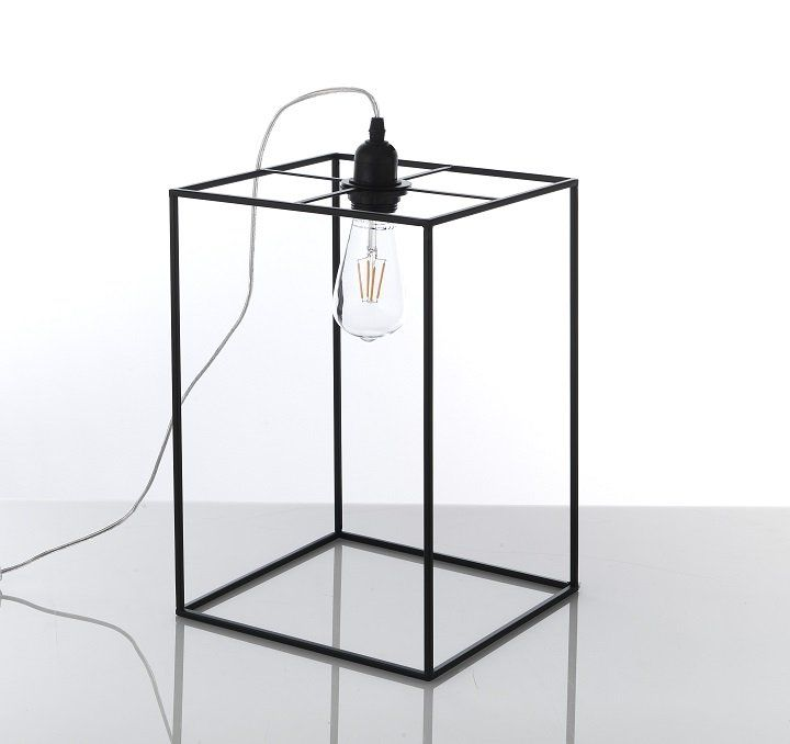 Lampada Da Tavolo O Abat Jour Design Minimal Nera Grande Lampade Da Tavolo Design Minimalista Lampade