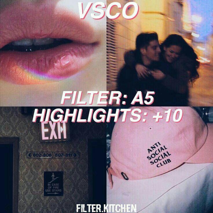 Filtro VSCO