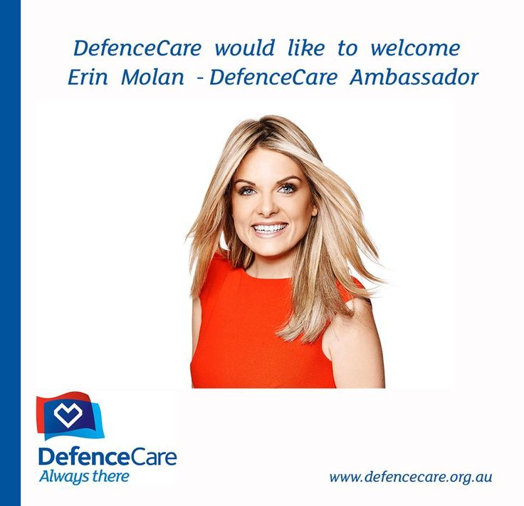 Journalist and sports presenter for Ch 9, Erin Molan has become a DefenceCare Ambassador.