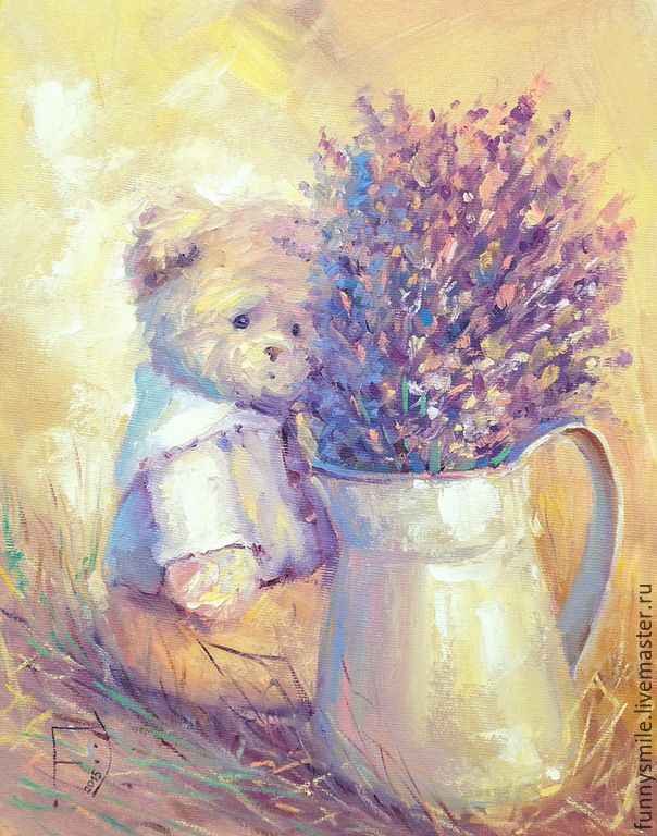Купить Картина маслом на холсте. Лавандовый день. - лавановый, солнечный, солнечное настроение, позитивный подарок