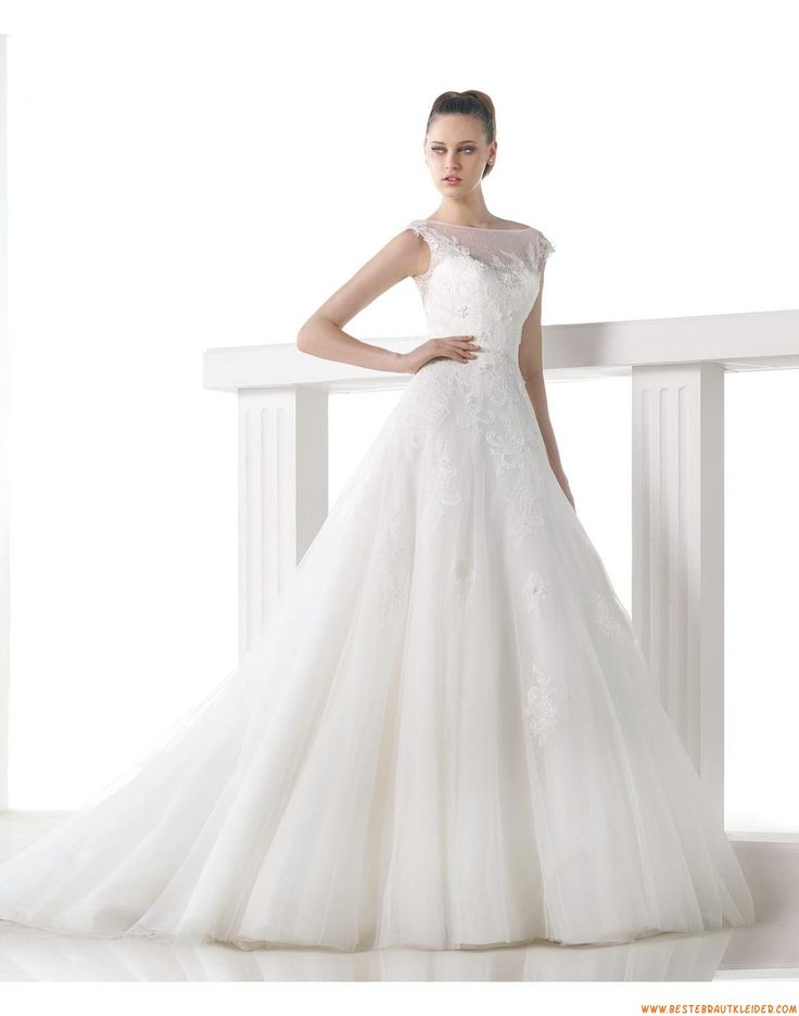 56 best Brautkleider mit spitze images on Pinterest   Wedding ...