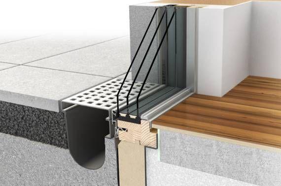 Rahmenlose Glasarchitektur durch PANORAMA HX 300 | Blick Beziehung Architektur - Internorm