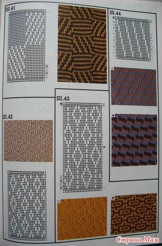 Machine knitting stitches The Harmony guide to