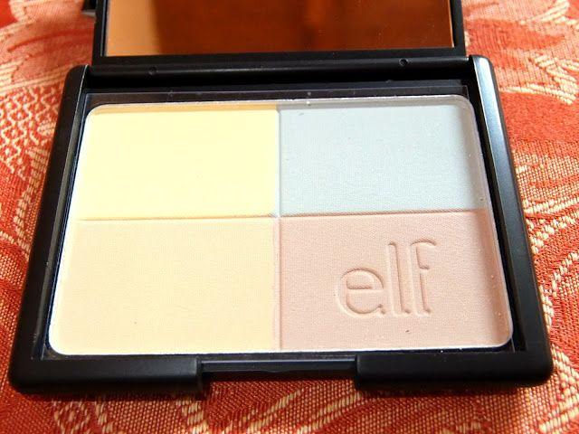 Elf pressed powder almond