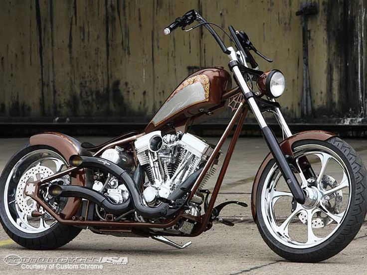 Custom Motorcycles | Custom Chrome Sell West Coast Choppers CFL