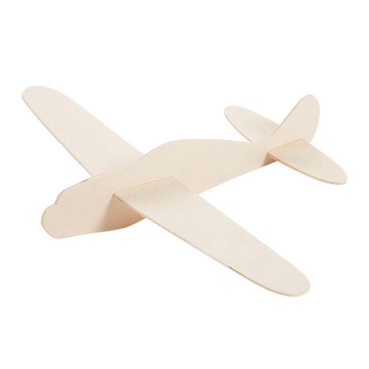 DIY Unfinished Wood Airplane Kits In 2020