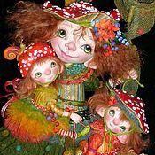 Купить или заказать Кукла 'А клоуны остались.' в интернет-магазине на Ярмарке Мастеров. маленький клоуняша…