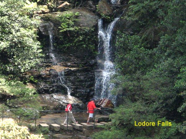 Valley of the Waters on the National Pass Walking Trail - Wentworth Falls - Australia