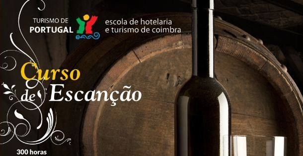 A Escola de Hotelaria e Turismo de Coimbra vai realizar um Curso de Escanção, a decorrer de 24 de Fevereiro a 27 de Julho de 2015. A duração é de 300 horas, de 2ª a 5ª feira e com horários entre as 15h e as 18h30m. O curso destina-se fundamentalmente a profissionais da área de mesa e bar. #revistadevinhos #formação