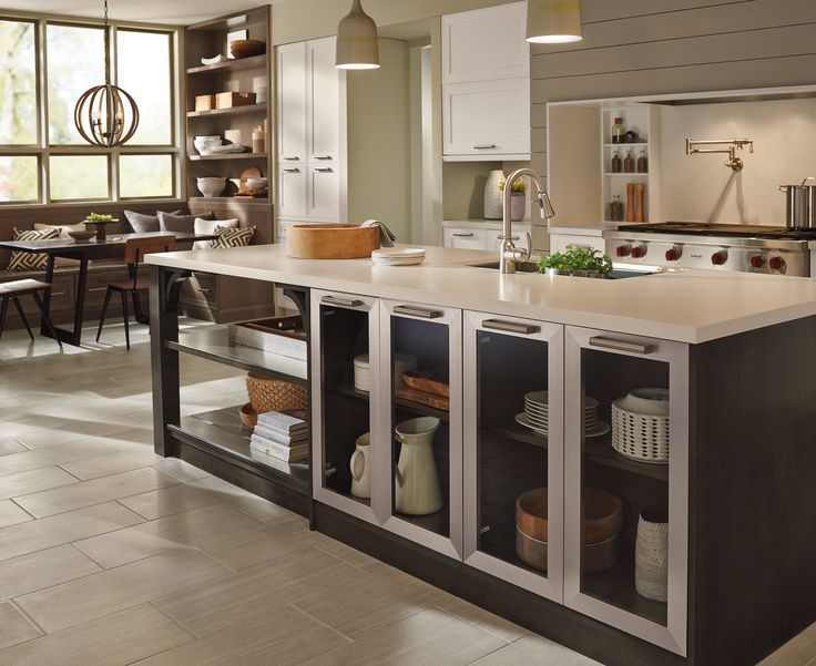 Luxury Clear Kitchen Cabinet Doors