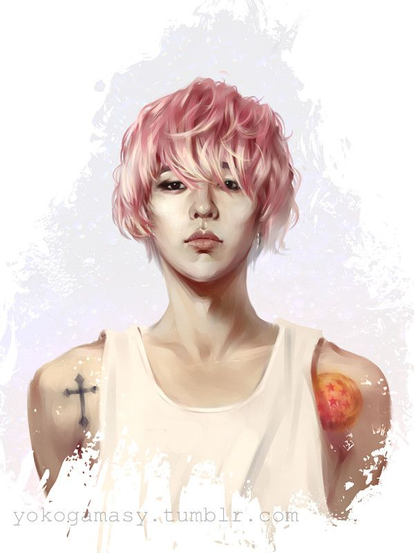 1000+ images about fan art k-pop on Pinterest   Bigbang, Luhan and ...