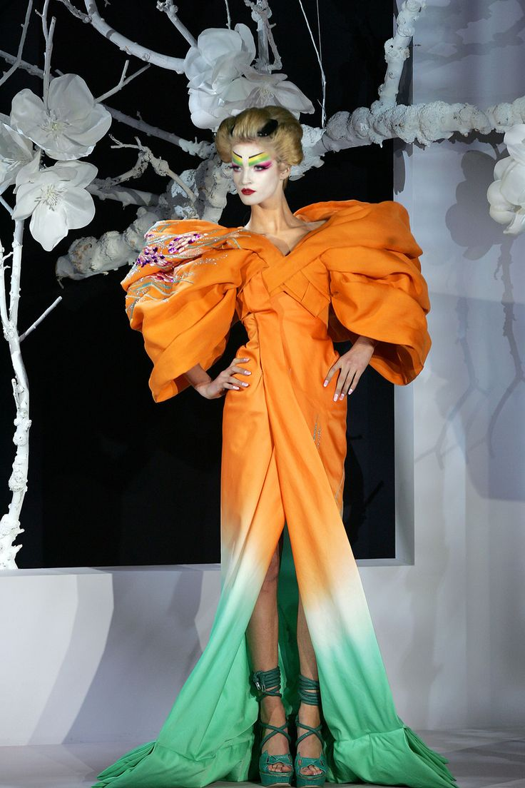 The Modern GEISHA ✿ :: Designer John Galliano For Christian Dior Couture Spring/Summer 2007