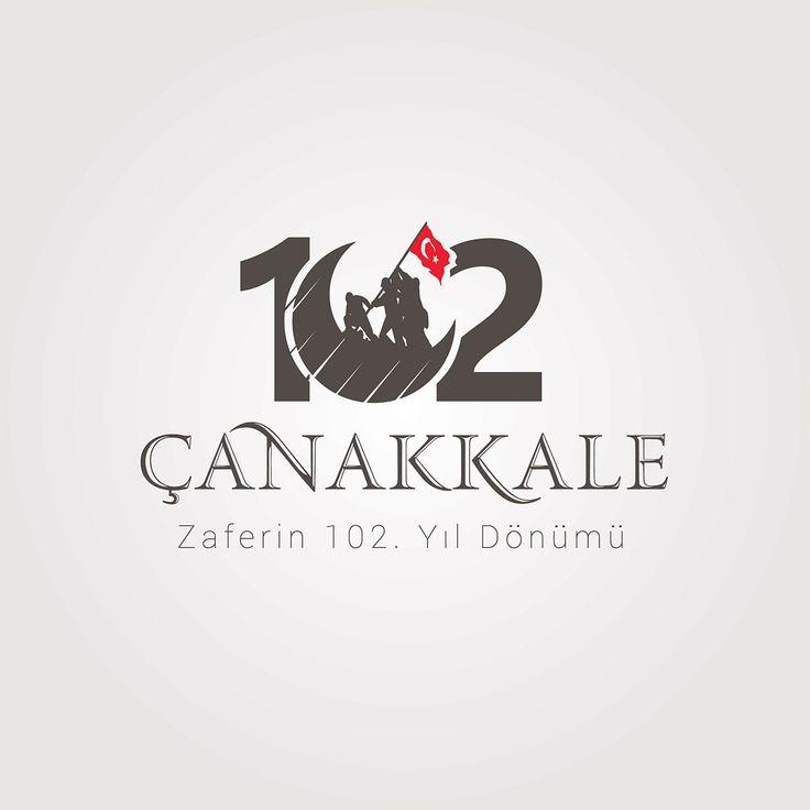 Vektörel Çizim | 18 Mart Çanakkale Zaferin 102. Yıl Dönümü