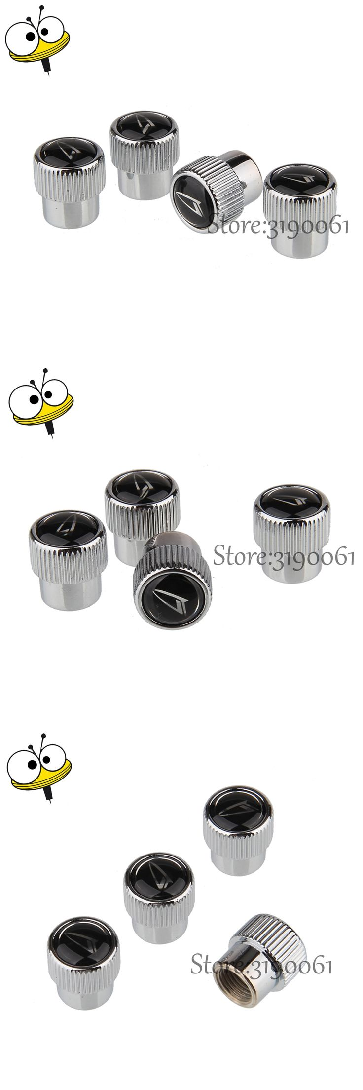 4 Pcs/set Car Accessories Tire Valve Stems Caps Auto Metal For Daihatsu Logo For Daihatsu DARIO TERIOS Charade MI-RA MOVE