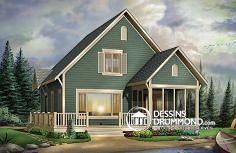 Plan de maison no. W3929 de dessinsdrummond.com
