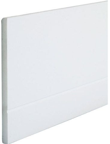 Rodapé ideal  Da Portobello, o Simplesmente branco (1,1 x 15 cm) custa R$ 31,90 a peça de ...