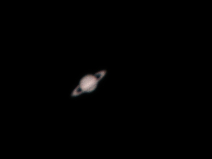 this is literally saturn as I saw it but slightly enlarged.