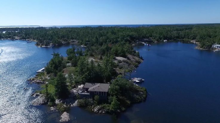 2 Island 2170 Georgian Bay, Georgian Bay Ontario - YouTube