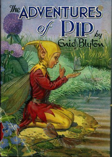The-Adventures-of-Pip-by-Enid-Blyton-FREE-AUS-POST-Used-Vintage-Illust-Hardback  www.sleepybearbooks.com