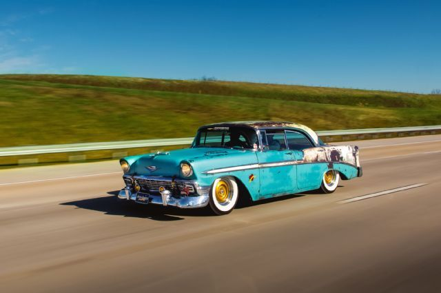42 best muscle cars images on pinterest automotive art no molds or cookie cutters here just a guys vision of what he feels a hot rod should be this 1956 chevy is truly and we mean truly one of a kind sciox Choice Image