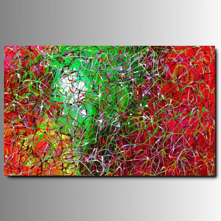 """tecnica di pittura astratta """"CARNAVAL 2"""" - Art MMB di Montserrat Martos Barriga"""